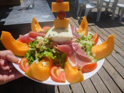 Restaurant - Salade composée