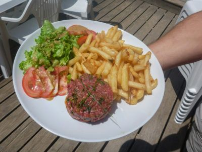 Restaurant - Tartare de boeuf
