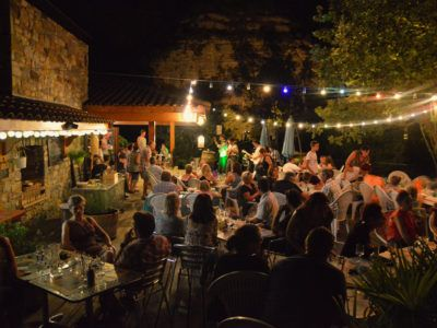 Restaurant - Terrasse de nuit